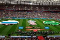Mirá las mejores fotos de la inauguración del Mundial