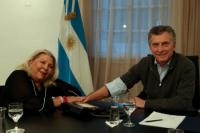 Tras sus polémicos dichos, Elisa Carrió se reunió con Macri