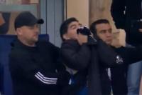 El increíble gesto de admiración de Maradona a Messi