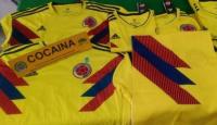 Detectaron cocaína en camisetas de la selección colombiana