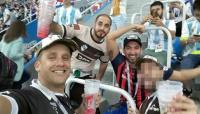 Identificaron y expulsaron del Mundial a los hinchas argentinos que golpearon a croatas