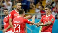Suiza se lo dio vuelta a Serbia sobre el final y quedó a tiro de la clasificación