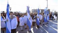 Los chicos de 9 de Julio prometieron lealtad a la bandera