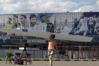 La selección argentina abandonó la concentración en Bronnitsy
