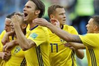 Suecia le ganó a Suiza y se metió en cuartos de final