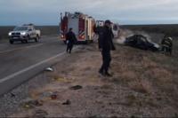 Río Negro: arrojaron a la beba del auto antes de morir calcinados y la salvaron