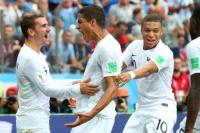 Francia le ganó a Uruguay y es el primer semifinalista