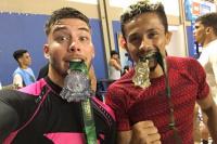 De San Juan a Brasil peleando por sus sueños