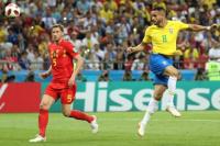 Bélgica derrotó a Brasil y se metió en semifinales