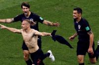 Croacia eliminó a Rusia en los penales