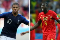 Francia-Bélgica, buscan un lugar en la gran final