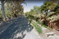 Un automóvil impactó contra un árbol en Pocito