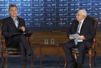 Macri en la Bolsa de Comercio: