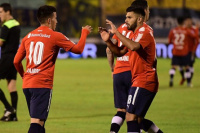 Independiente goleó 8-0 a Central Ballester en su debut