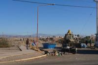 Realizan un nuevo operativo de limpieza en el barrio Hualilán