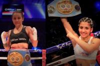 Noche bien sanjuanina: Cecilia Román y Leonela Yúdica retuvieron sus títulos en el Cantoni