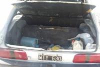 Detuvieron a un hombre por robar herramientas de un automóvil