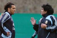 Diego Maradona duro con Tevez: