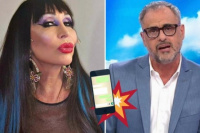 ¡Largá todo!: se filtró un audio de Moria Casán destruyendo a Jorge Rial