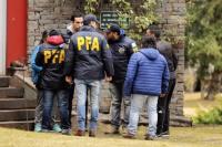 Continúa el allanamiento a la casa de Cristina Fernández de Kirchner