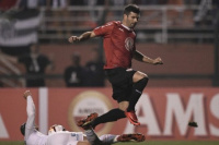 Independiente empató 0 a 0 con Santos y avanzó a cuartos de final