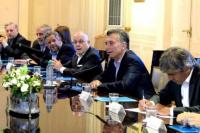 Tras la corrida cambiaria, Macri se reunió con sus colaboradores
