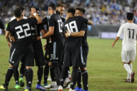 Amistoso Internacional: Argentina goleó 3 a 0 a Guatemala