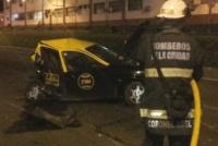 Un ex jugador de Boca chocó contra un taxi y provocó dos muertes