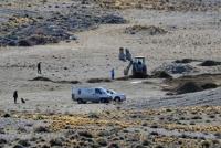Coimas K: realizan excavaciones en propiedades de Lázaro Báez
