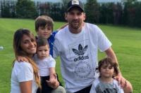 Posteo ¿y vuelta?: El detalle del pantalón de Messi que revolucionó a todos