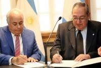 Los Poderes Legislativo y Judicial suscribieron un convenio de colaboración institucional