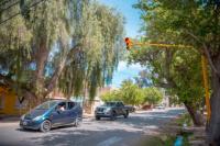 Nuevos semáforos en un cruce peligroso de Concepción