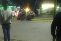 Caucete: volvían de bailar y protagonizaron un terrible choque en la Diagonal Sarmiento