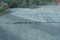 Carpintería: continúa interrumpido el tránsito en Ruta 40