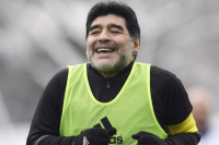 Internaron a Diego Maradona por un
