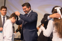Otorgaron el reconocimiento al esfuerzo y la dedicación de los alumnos primarios de Santa Lucía