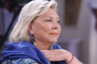 Elisa Carrió no descartó una posible