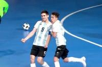 Juegos Olímpicos de la Juventud: Argentina aplastó a Panamá por 12-2 en futsal