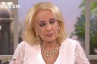 Mirtha Legrand lloró en vivo tras desmentir un romance con Carlos Monzón