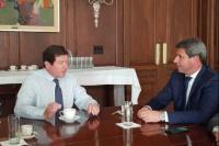 Sergio Uñac se reunió con el embajador argentino en Washington