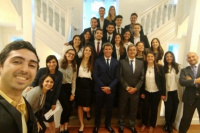 En Washington, Sergio Uñac expresó su apoyo a los jóvenes líderes sanjuaninos