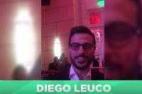 Presentación oficial de Tarjeta Naranja: el periodista Diego Leuco envió saludos a los lectores