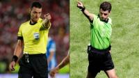 Roldán y Cunha, los árbitros para los partidos de vuelta de Boca y River