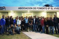 Inauguran remodelaciones en la Unión Vecinal del barrio el Vivero