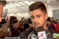 El Pity Martínez habló antes de viajar a Brasil: