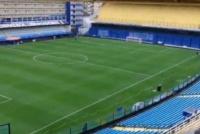 Conmebol está verificando el campo de juego en La Bombonera