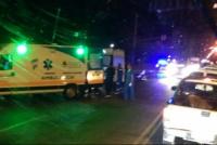 Falleció un motociclista tras chocar contra un patrullero