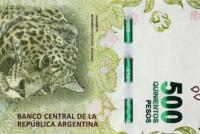 El billete de 500 pesos bajó al 43% de poder adquisitivo desde el inicio de su circulación