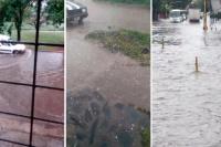 No solo llovió en La Bombonera: granizo, inundaciones y cortes de luz en diferentes partes del país