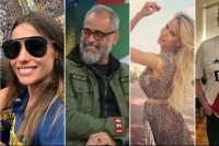 Desde Pampita hasta Rial: la farándula también opinó y alentó en la Superfinal
